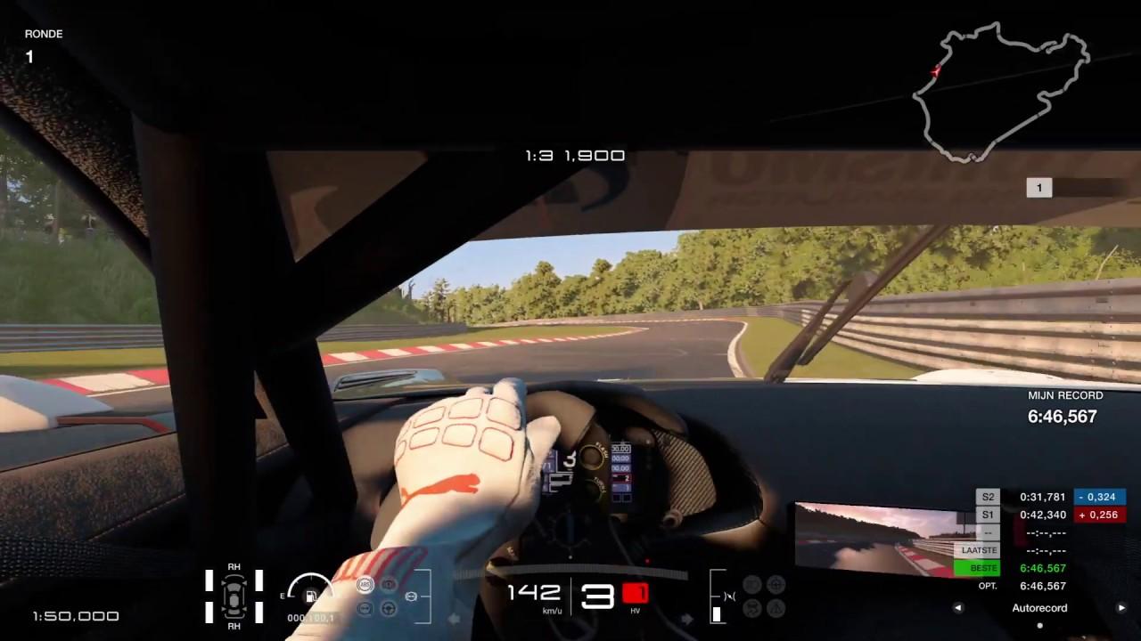 Gran Turismo™SPORT Mazda Vision RX GT3  hotlap @Nürburgring Nordschleife