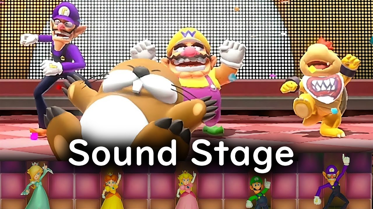 Super Mario Party Sound Stage ◆ Monty Mole #10