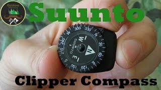 Suunto Clipper L/B NH Compass: Button Compass Perfection