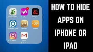 How to Hide Apps on iPhone or iPad all iOS No Jailbreak
