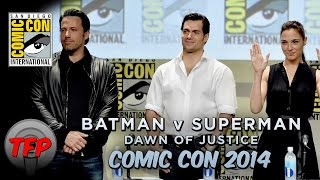 TFP Comic Con 2014: BATMAN v SUPERMAN (Panel Footage)