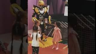 Зарядка вместе с роботом
