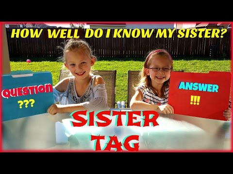 SISTER TAG - Magic Box Toys Collector