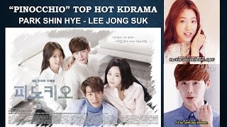 "Video Park Shin Hye and Lee Jong Suk in ""Pinocchio"" download MP3, 3GP, MP4, WEBM, AVI, FLV Maret 2018"