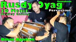 30 Menit #Rusdy Oyag medley lagu calung Mencug lucu