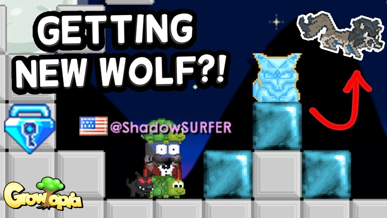 steel chair growtopia 3 in one high new wolf item blue gem lock more stuff update