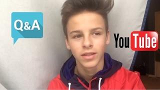 MY FIRST VIDEO! QNA #OWENBODAR