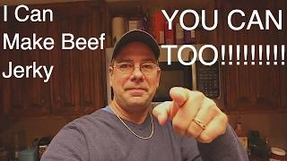 Easy Beef Jerky - Homemade Beef Jerky