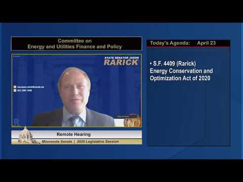 Energy Conservation and Optimization Act Advances