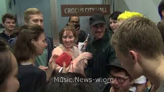 Portugal  The Man & fans after live show in Moscow, Crocus City Hall 18.07.2018