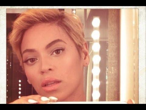 Beyonce Haircut Tutorial - Womens Short Hair - YouTube
