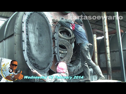 Rubber Recycling For Carbon & Oil | Tangerang, Indonesia 2014