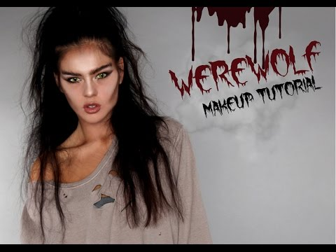 get the look  easy werewolf halloween makeup tutorial