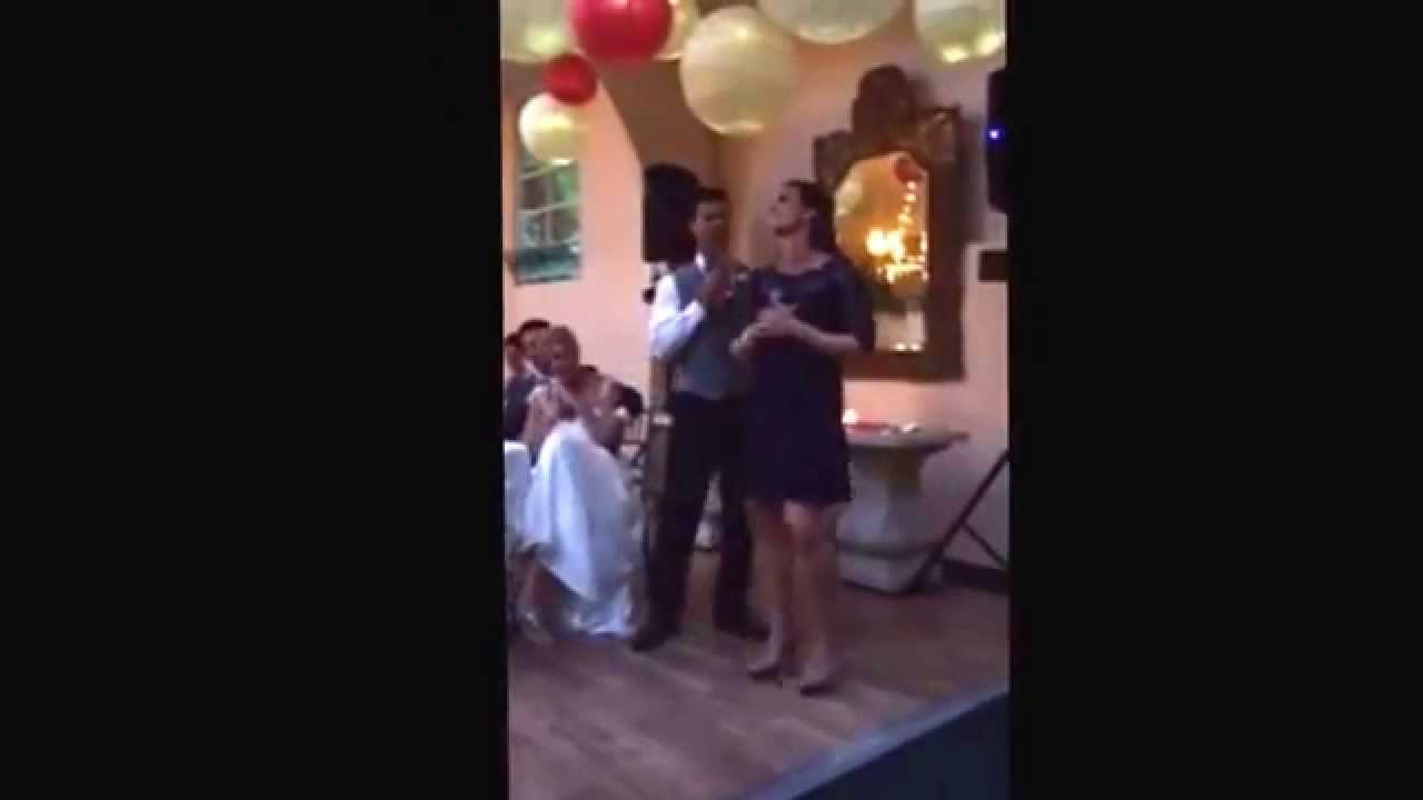Epic Wedding Speech Duet Of Frozen Song Doovi