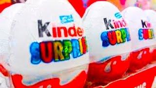 Яйца КИНДЕР СЮРПРИЗ видео (Много киндеров)   Kinder Surprise EGG