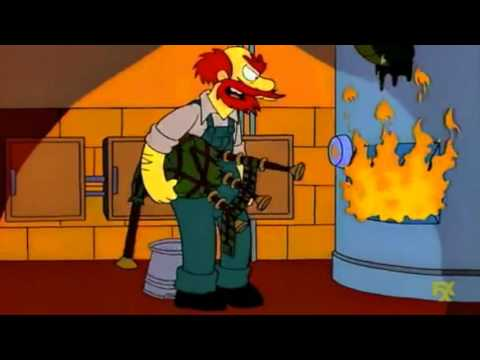 The Simpsons - The story of Groundskeeper Willie (S7Ep06)