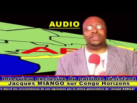 INTERVIEW EXCLUSIVE DE JACQUES MIANGO SUR CONGO HORIZONS