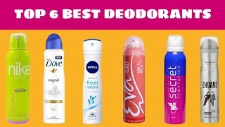 Top 6 Best Deodorants for Women in India with Price | Shalu Dhaval Patel