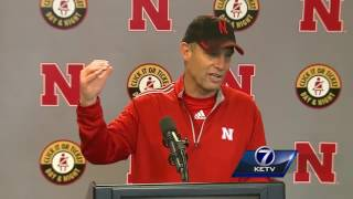 Coach Mike Riley discusses the Spring Game 4/15/17