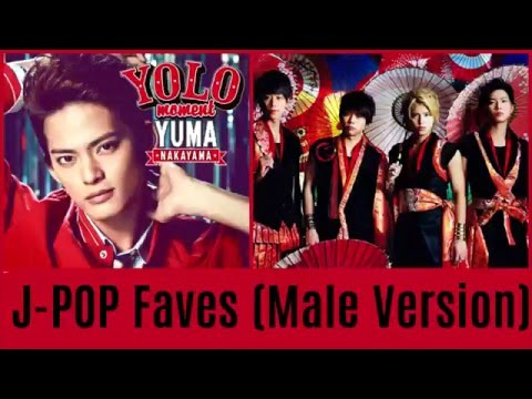 My Top 60 Favourite J-POP Songs Ever! (Male Version)