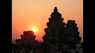 Камбоджа. Хостел обзор номера.Закат в храме Баконг.