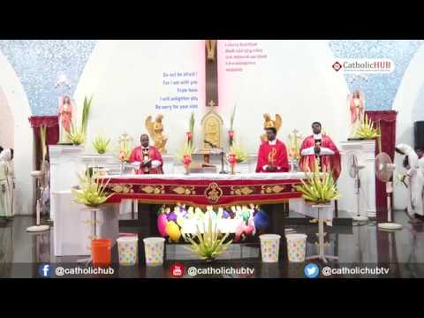 Palm Sunday Holy Mass @Divine Mercy Church,Anna Nagar,Chennai,TN. 25-03-18