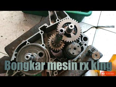 Bongkar Mesin Yamaha RX KING