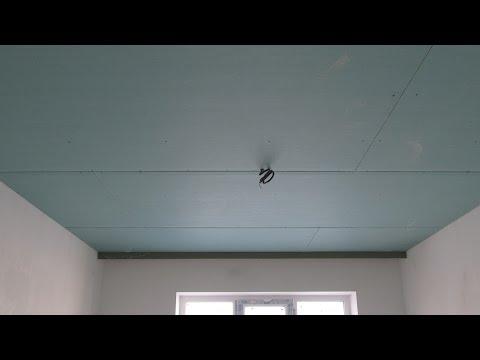 Как самому собрать потолок  с нишей под карниз из гипсокартона / В Старом Осколе