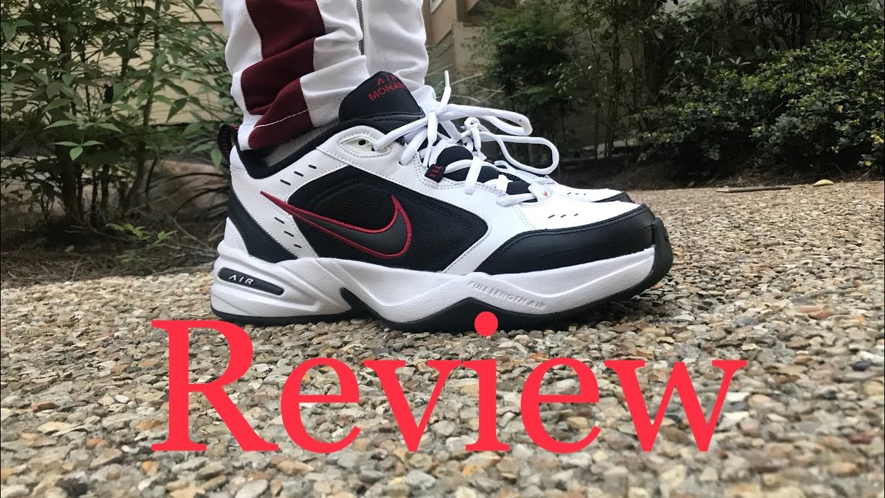 20cc7ea1cc034 Nike Air Monarch Review and on feet - YouTube