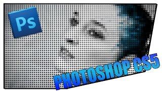 pHOTOSHOP Фото в рисунок из цветных точек в Фотошоп