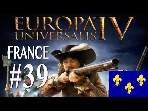 Europa Universalis 4 - France WC attempt campaign #39