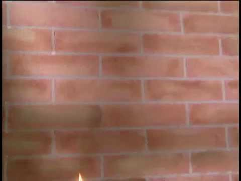Imitacion de pared de ladrillo youtube - Pared imitacion ladrillo ...