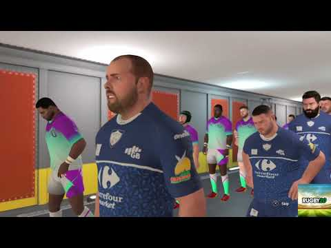 Third game Rugby 20 ultimate team  