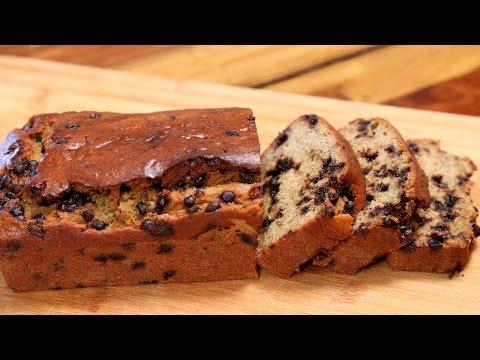 Banana Bread Recipe | Eggless Chocolate Chip Banana Bread | Divine Taste With Anushruti