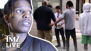 Обложка A AP Rocky Now In Custody Arrest In Sweden TMZ Live