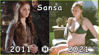 Game of Thrones Then and Now 2021(Real Name & Age)