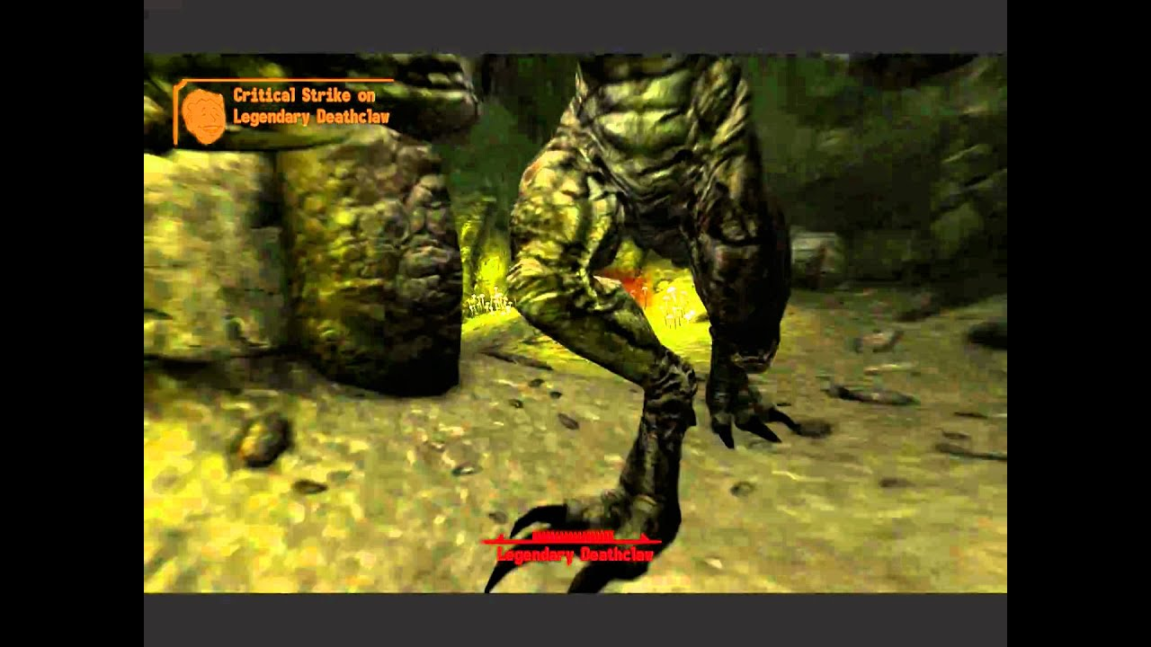Legendary Deathclaw Fallout New Vegas- Pis...