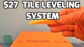 Diy Tile Floor With Peygran Tile Levelling System Review Unboxing Youtube
