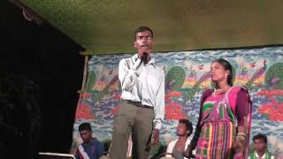 santali blind singer(Ganesh)_in stage progamme_ new santali video song
