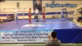 Kick Boks 81 kg Doğukan Göçer