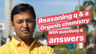 Organic chemistry Reasoning questions