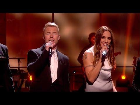 Boyzone & Melanie C - No Matter What (Live)