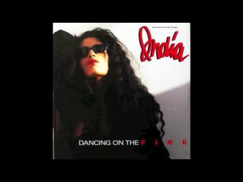 INDIA   DANCING ON THE FIRE 1988 EXTENDED DANCE MIX