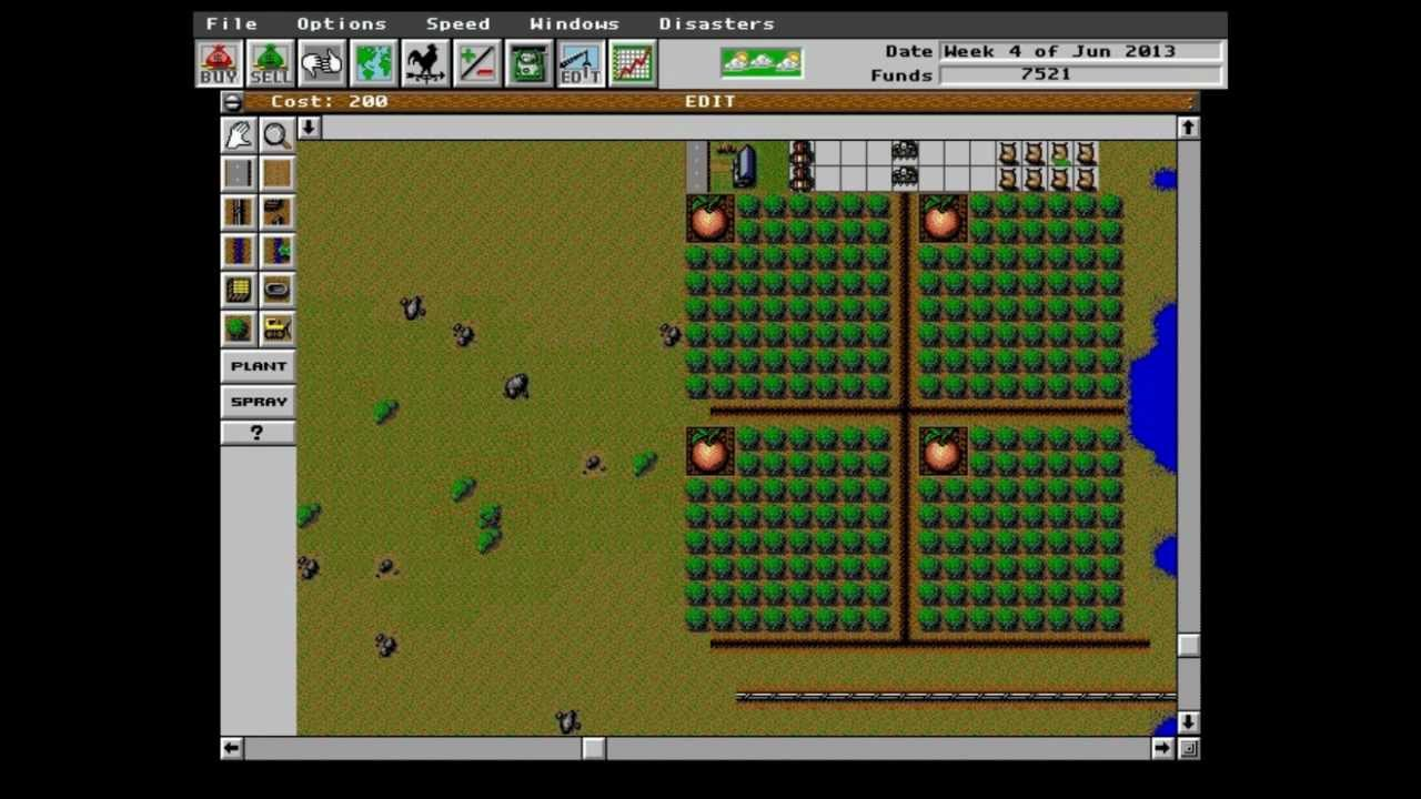Play Sim Farm Online - My Abandonware