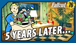FALLOUT 76 - WHY are we STILL in the Vault 5 YEARS AFTER it Opened? (Theory)