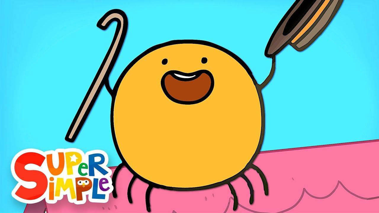 The Eensy Weensy Spider   Kids Songs   Super Simple Songs - YouTube