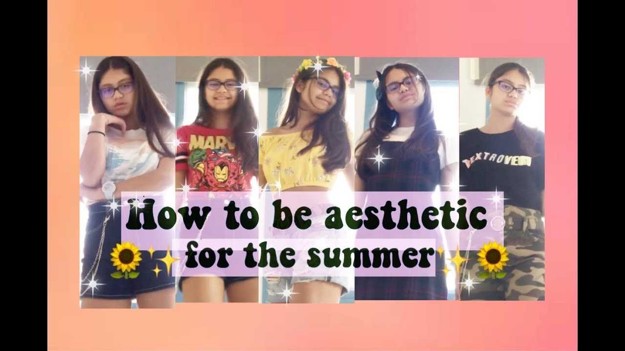 Aesthetic outfits for the summer ✨