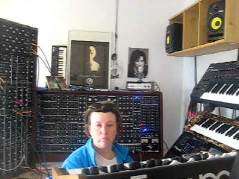 Berlin Old school. Synthesizers and Sequencers like Tangerine Dream