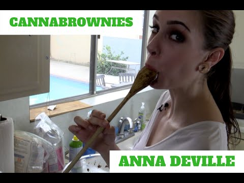 Easy Pot Brownies Recipe - Anna Deville - Sin Kitchen