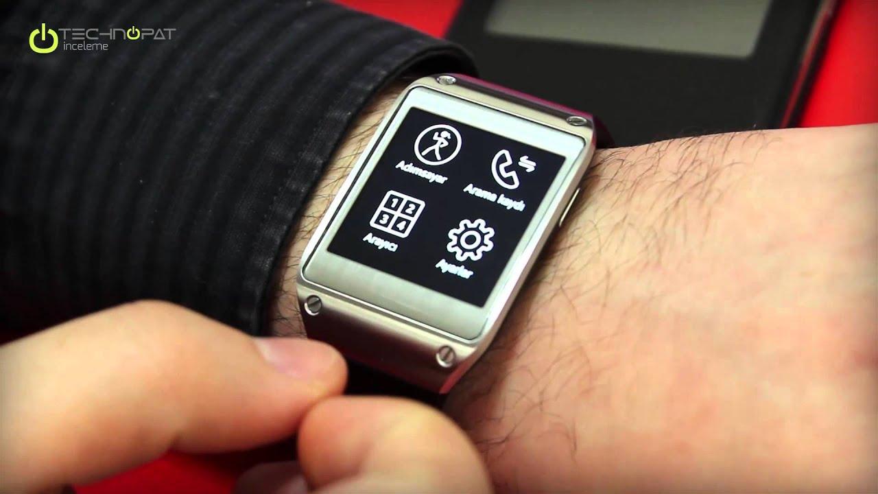985cc4fb318ce Samsung Galaxy Gear İncelemesi - YouTube